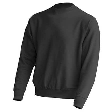Crew Neck Sweatshirt JHK320 in Graphite von JHK (Artnum: JHK320