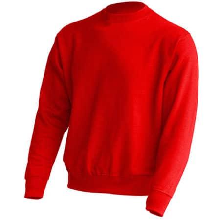 Crew Neck Sweatshirt JHK320 in Red von JHK (Artnum: JHK320