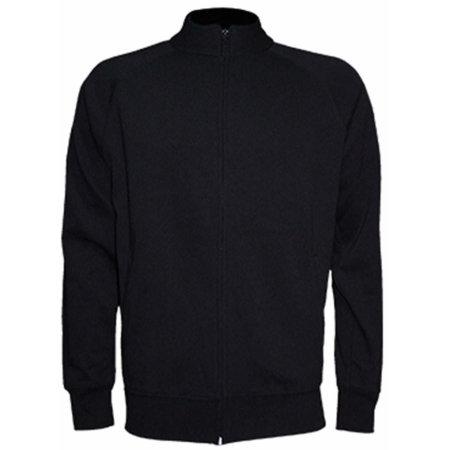 Full Zip Sweatshirt in Black von JHK (Artnum: JHK401