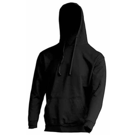 Ocean Kangaroo Hooded Sweat in Black von JHK (Artnum: JHK420