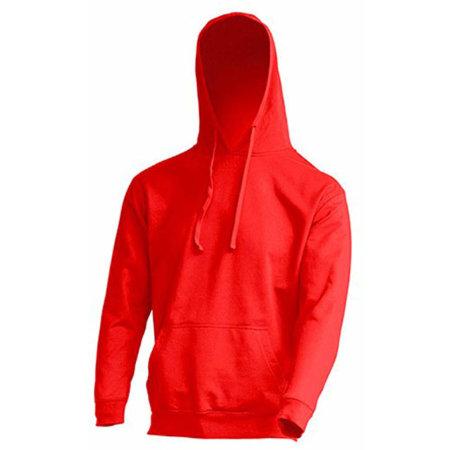 Ocean Kangaroo Hooded Sweat in Red von JHK (Artnum: JHK420