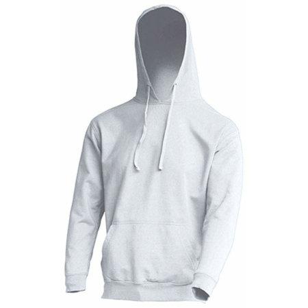 Ocean Kangaroo Hooded Sweat in White von JHK (Artnum: JHK420
