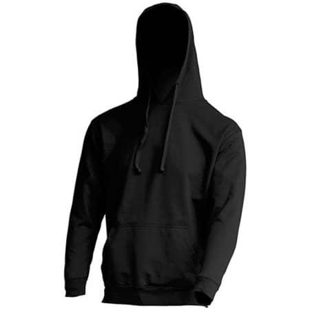 Kangaroo Sweatshirt JHK421 in Black von JHK (Artnum: JHK421