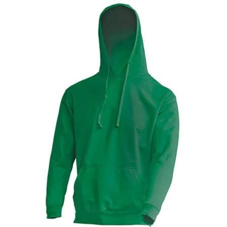 Kangaroo Sweatshirt JHK421 in Kelly Green von JHK (Artnum: JHK421