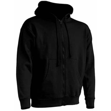 Hooded Sweater in Black von JHK (Artnum: JHK422