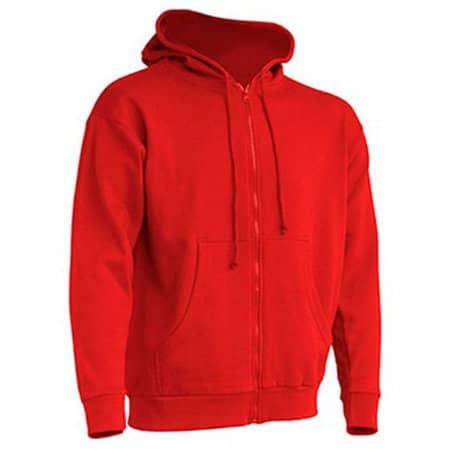 Hooded Sweater in Red von JHK (Artnum: JHK422