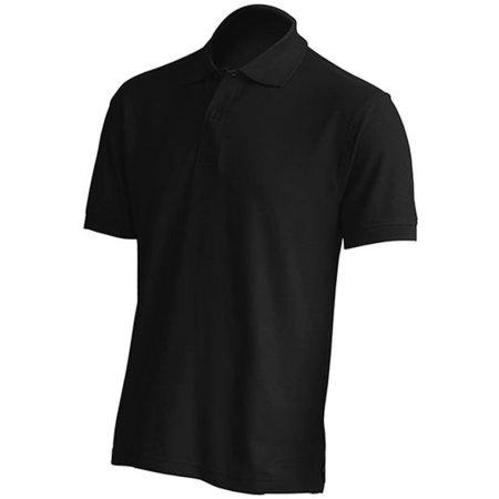 Polo Regular Man in Black von JHK (Artnum: JHK510