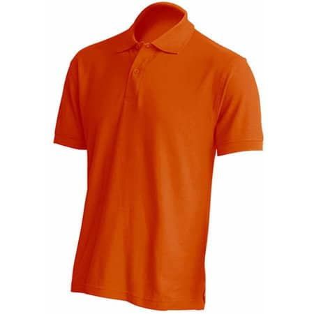 Polo Regular Man in Orange von JHK (Artnum: JHK510