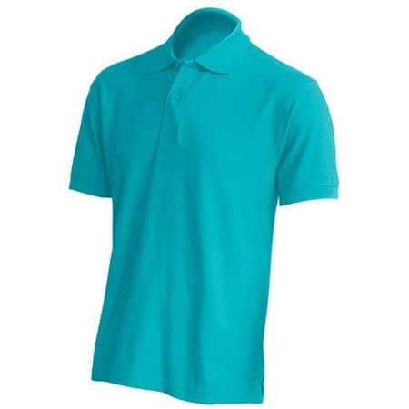 Polo Regular Man in Turquoise von JHK (Artnum: JHK510