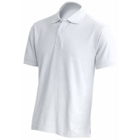 Polo Regular Man in White von JHK (Artnum: JHK510