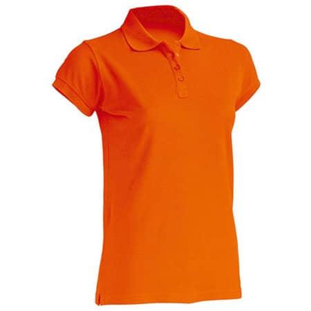 Polo Regular Lady in Orange von JHK (Artnum: JHK511