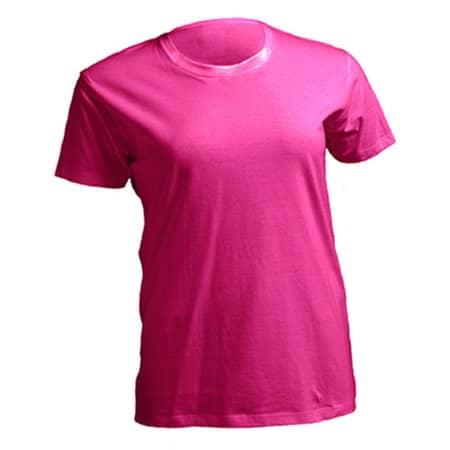 Curves T-Shirt Lady in Fuchsia von JHK (Artnum: JHK601