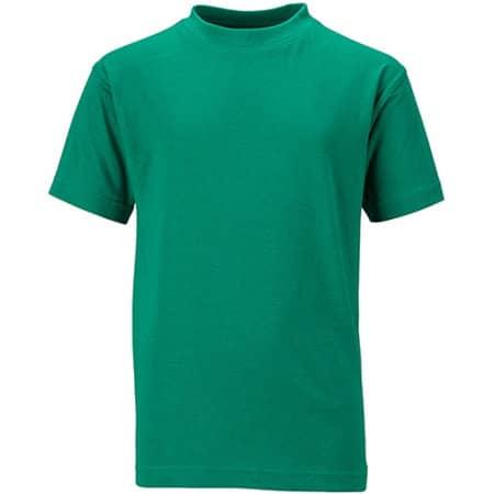 Junior Basic-T in Irish Green von James+Nicholson (Artnum: JN019