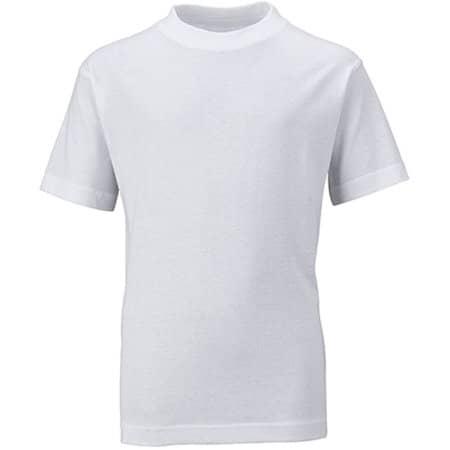 Junior Basic-T in White von James+Nicholson (Artnum: JN019
