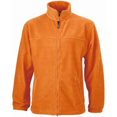 Full-Zip Fleece von James+Nicholson (Artnum: JN044