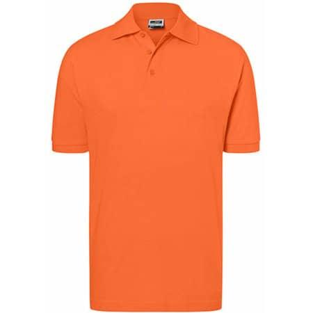 Classic Polo in Dark Orange von James+Nicholson (Artnum: JN070