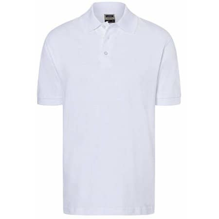 Classic Polo in White von James+Nicholson (Artnum: JN070