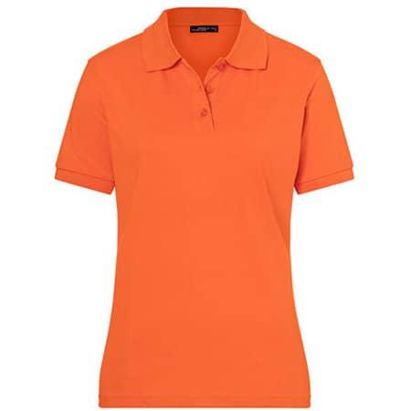 Classic Polo Ladies in Dark Orange von James+Nicholson (Artnum: JN071