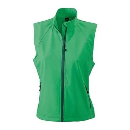 Ladies` Softshell Vest von James+Nicholson (Artnum: JN1023