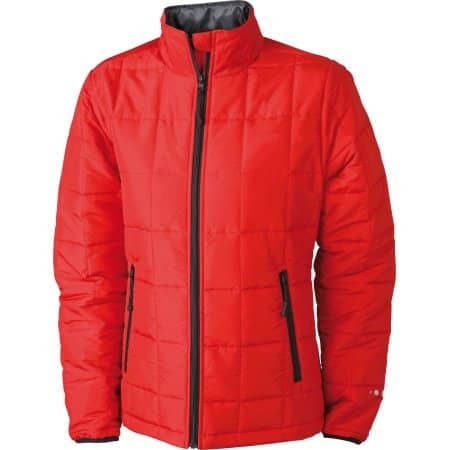 Ladies` Padded Light Weight Jacket von James+Nicholson (Artnum: JN1034