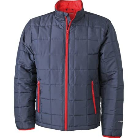 Men`s Padded Light Weight Jacket von James+Nicholson (Artnum: JN1035