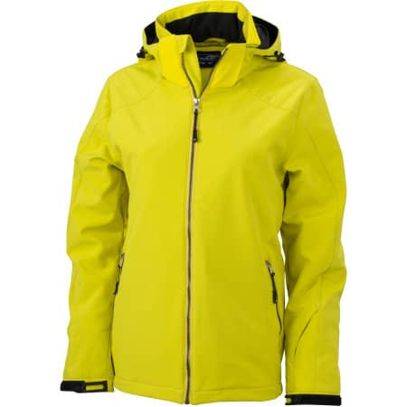 Ladies` Wintersport Softshell von James+Nicholson (Artnum: JN1053