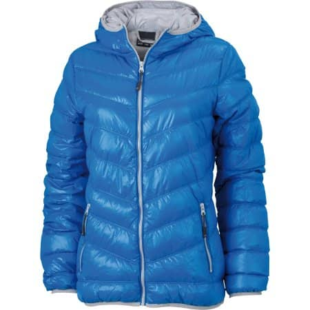 Ladies` Down Jacket von James+Nicholson (Artnum: JN1059