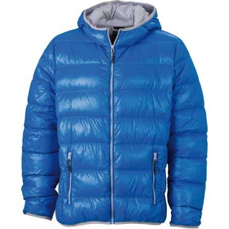 Men`s Down Jacket Ultralight von James+Nicholson (Artnum: JN1060