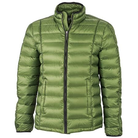 Men`s Quilted Down Jacket von James+Nicholson (Artnum: JN1082