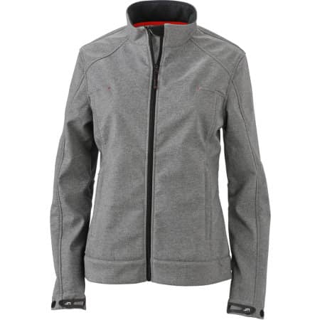 Ladies` Softshell Jacket JN1087 von James+Nicholson (Artnum: JN1087