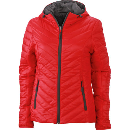 Ladies` Lightweight Jacket von James+Nicholson (Artnum: JN1091