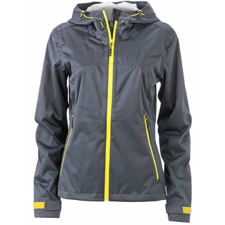 Ladies` Outdoor Jacket von James+Nicholson (Artnum: JN1097
