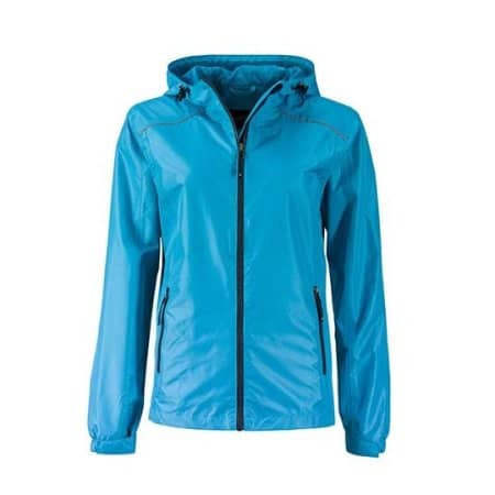 Ladies` Rain Jacket von James+Nicholson (Artnum: JN1117
