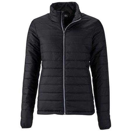 Ladies` Padded Jacket in Black von James+Nicholson (Artnum: JN1119