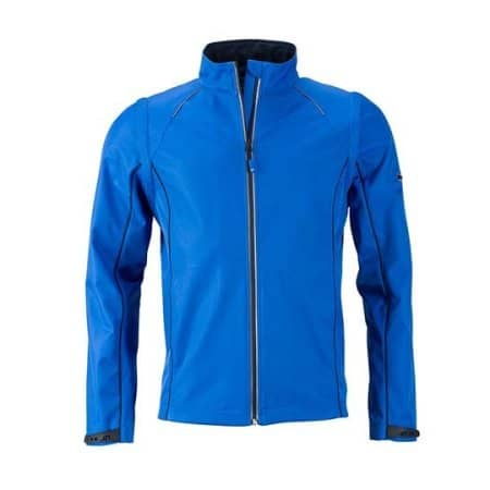 Men`s Zip-Off Softshell Jacket von James+Nicholson (Artnum: JN1122