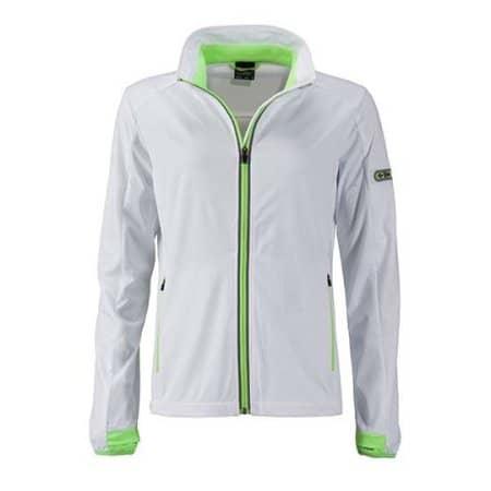 Ladies` Sports Softshell Jacket von James+Nicholson (Artnum: JN1125