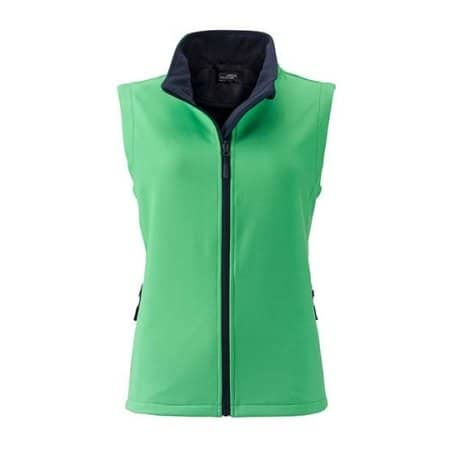 Ladies` Promo Softshell Vest von James+Nicholson (Artnum: JN1127