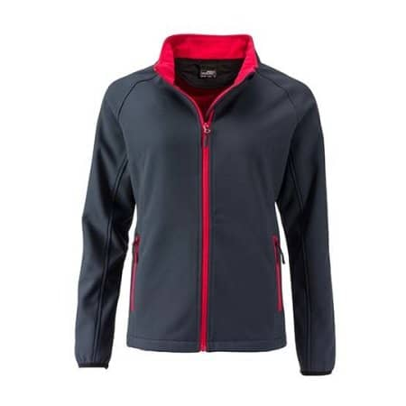 Ladies` Promo Softshell Jacket von James+Nicholson (Artnum: JN1129