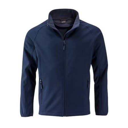 Men`s Promo Softshell Jacket von James+Nicholson (Artnum: JN1130