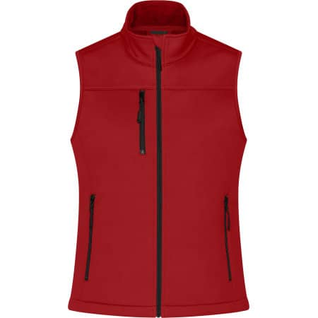 Ladies` Softshell Vest von James+Nicholson (Artnum: JN1169