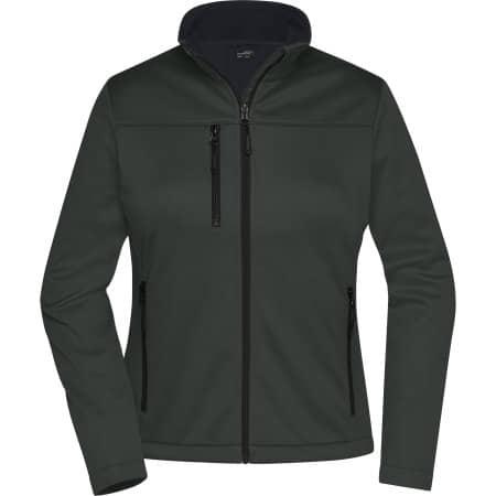 Ladies` Softshell Jacket von James+Nicholson (Artnum: JN1171