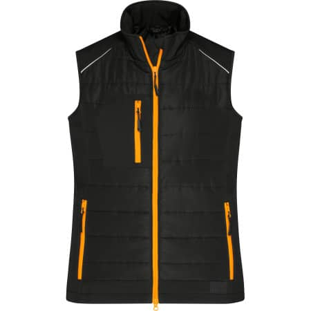 Ladies` Hybrid Vest von James+Nicholson (Artnum: JN1821