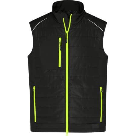 Men`s Hybrid Vest von James+Nicholson (Artnum: JN1822