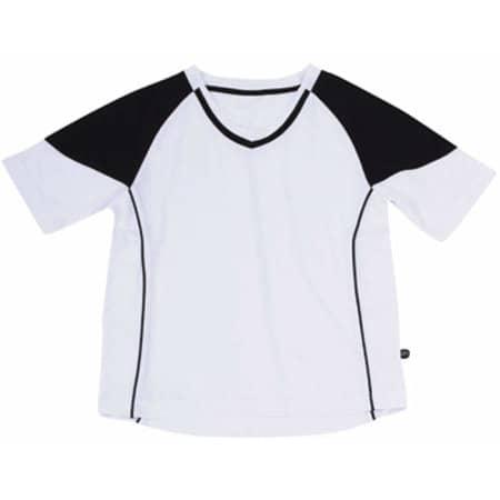 Team-T Junior in White|Black von James+Nicholson (Artnum: JN338K