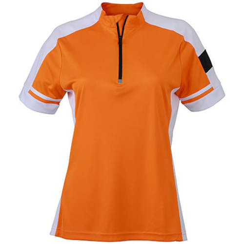 James+Nicholson - Ladies` Bike-T Half Zip