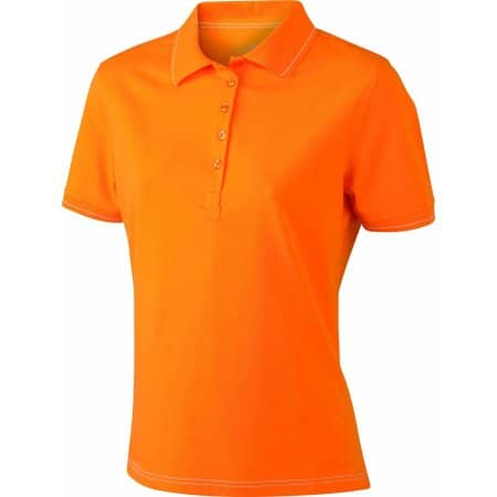 Ladies` Elastic Polo von James+Nicholson (Artnum: JN568