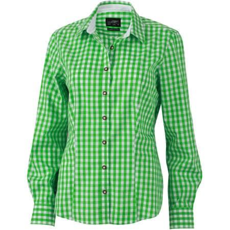 Ladies` Traditional Shirt von James+Nicholson (Artnum: JN637