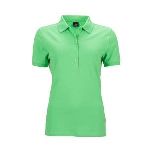 Ladies` Elastic Polo Piqué
