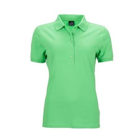 Ladies` Elastic Polo Piqué von James+Nicholson (Artnum: JN709