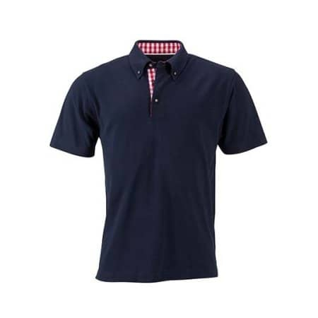 Men`s Traditional Polo von James+Nicholson (Artnum: JN716